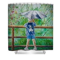 Marcus' Umbrella Shower Curtain