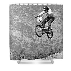 Marvin Church 1974 Shower Curtain