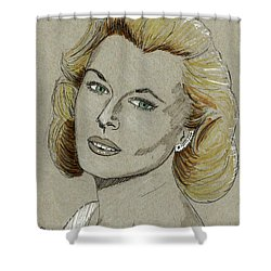 Mary Costa Shower Curtain