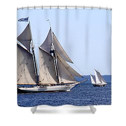 Mary Day Shower Curtain