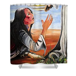 Mary Magdalene Shower Curtain