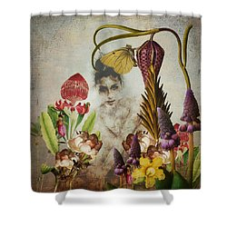 Mary Mary Quite Contrary Shower Curtain
