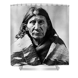Mary Red Cloud, C1900 Shower Curtain by Granger