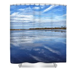 Shower Curtain featuring the photograph Maryland - Blackwater National Wildlife Refuge by Brendan Reals