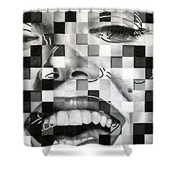 Marylin II Shower Curtain