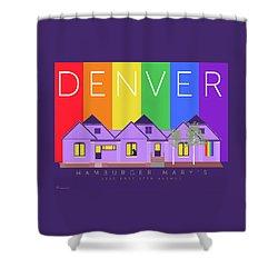 Mary's Rainbow Shower Curtain