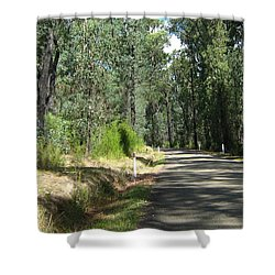 Marysville Trees Shower Curtain