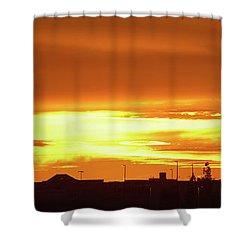 Maryvale Goldrise Cvs Shower Curtain