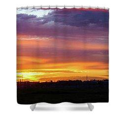 Maryvale Sunrise Cvs Shower Curtain