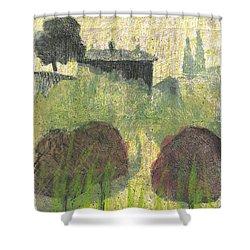 Mas En Provence Shower Curtain by Martin Stankewitz