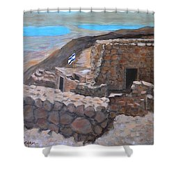 Masada Shower Curtain