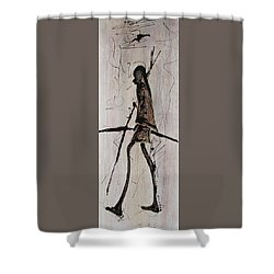 Masai Family - Part 2 Shower Curtain