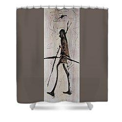 Masai Family - Part 2 Shower Curtain