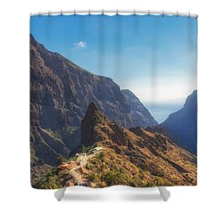 Masca Shower Curtain