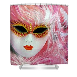 Maschera Shower Curtain