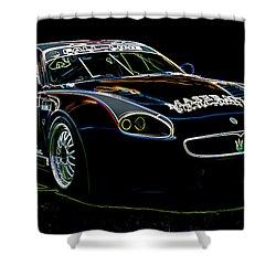 Maserati Shower Curtain by Sebastian Musial