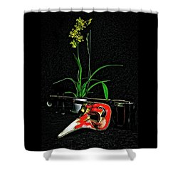 Mask For Pinnochio Shower Curtain