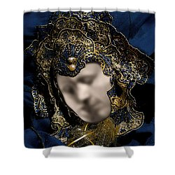 Mask Of Love Shower Curtain