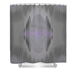 Maskfeather Shower Curtain