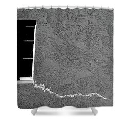 Shower Curtain featuring the photograph Masonic Window by CML Brown