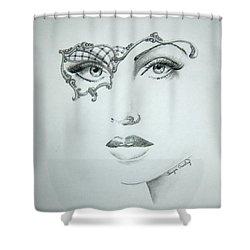 Masquerade Ball Shower Curtain