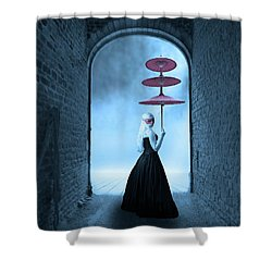 Shower Curtain featuring the photograph Masquerade by Juli Scalzi