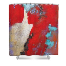 Masquerade  Shower Curtain by M Diane Bonaparte