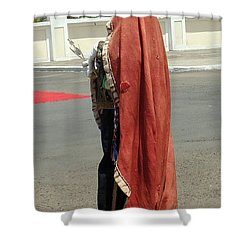 Masquerader Of Sao Tome Shower Curtain
