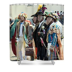 Masqueraders Of Sao Tome Shower Curtain