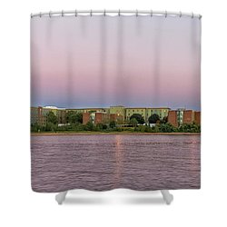 Massachusetts Maritime Academy At Sunset Shower Curtain