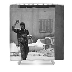 Shower Curtain featuring the photograph Massalama by Jez C Self