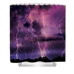 Massive Attack Shower Curtain
