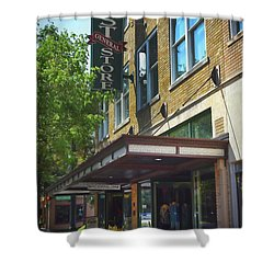 Shower Curtain featuring the photograph Mast General by Skip Willits
