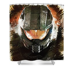 Master Chief Shower Curtain