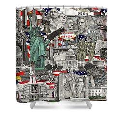 Masterpiece America Shower Curtain