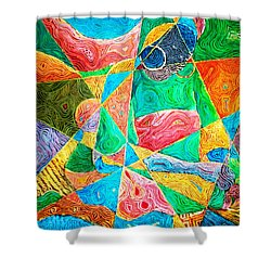 Mat Weaver Shower Curtain