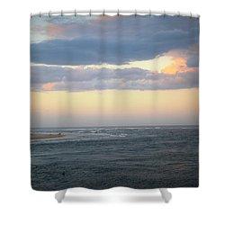 Matanzas Inlet Shower Curtain