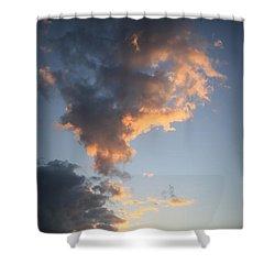 Matanzas Sunset Shower Curtain
