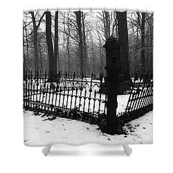 Mater Dorolosa Cemetery  Shower Curtain