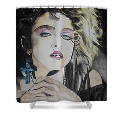 Material Girl Shower Curtain