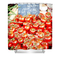 Shower Curtain featuring the photograph 'maters by Jason Smith