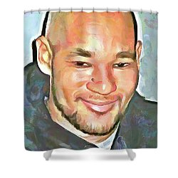Matheu Flament Shower Curtain