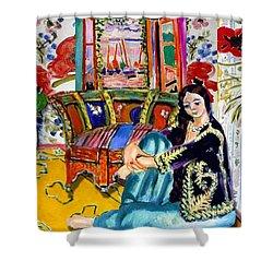 Matisse's Open Room Shower Curtain