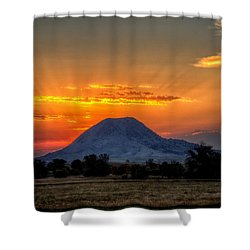 Mato Paha, The Sacred Mountain Shower Curtain