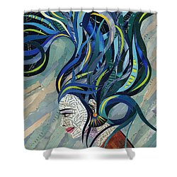Matriarch Shower Curtain by Shawna Rowe