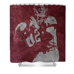 Matt Ryan Atlanta Falcons 2 Shower Curtain by Joe Hamilton