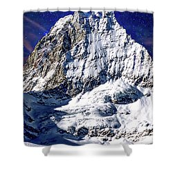 Matterhorn At Twilight Shower Curtain