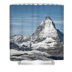 Matterhorn Shower Curtain by Marty Garland