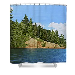 Matthew's Paddle Shower Curtain