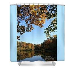 Matthiessen Lake In Autumn Shower Curtain